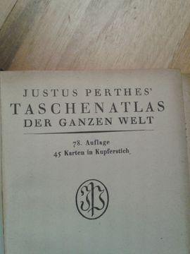 Bild 4 - Taschenatlas von Justus Perthes - Schwabach