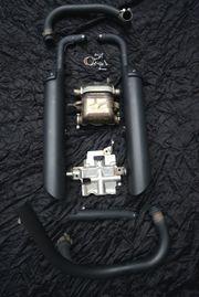 Triumph Bonneville Bobber original Auspuffanlage