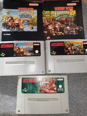 SNES Donkey Kong Trilogie 2