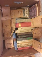 Alte Bücher und Romanen