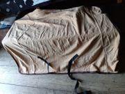 Abschwitzdecke 145cm Fleece Beige mit