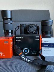 Sony Alpha 6300 Systemkamera inkl