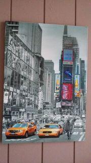 Bild auf Keilrahmen New York
