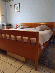 Schlafzimmer Komplett echter Kirschbaumholz