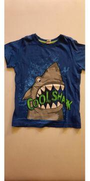 Cooles Shirt mit Hai-Motiv Gr