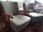 Sofa und 2 Sessel 50-er