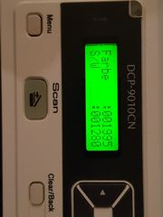 Neuwertiger Brother Laser Farbdrucker DCP-9010CN