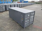 20 Container in RAL7015 Schiefergrau-