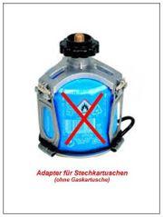 Adapter für Stechkartuschen Gaskartuschen