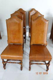 4 Esszimmerstuhl Echtleder Stuhl Lederstühle