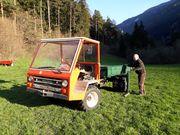 Landwirtschaftlicher Transporter