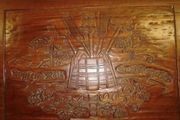 Tisch aus Mahagoni