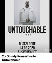 Shindy Konzert Tickets Karten Untouchable