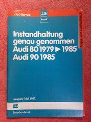 Reparatur und Service- Handbücher VW