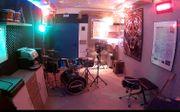 Proberaum an Schlagzeuger Einzelmusiker oder