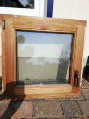 Meranti Fenster Isolierverglast