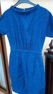 Jeanskleid Kleid blau Gr S
