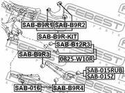SAB-B9R-KIT LAGER FÜR HINTEROBERLENKER - REPARATURSATZ