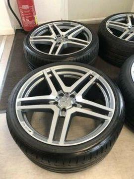 Mercedes AMG Styling 4xAlufelgen Reifen: Kleinanzeigen aus Dedenbach - Rubrik Alufelgen