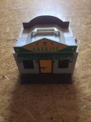 playmobil Westernstadt tragbar