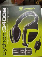 snakebyte Python 3400S Stereo Headset -