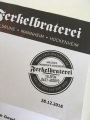 Gutschein Ferkelbraterei Karlsruhe 50 00