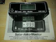 ELV-Modul Sam-1000 Solar-Akku-Monitor LCD-Anzeige Gehäuse