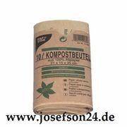 Bio-Kompostbeutel aus Papier 10 l