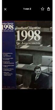 Jahres CHRONIK der FAZ 1998