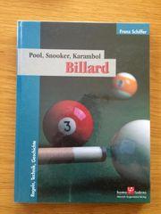 Billard Pool Snooker Karambol Regeln