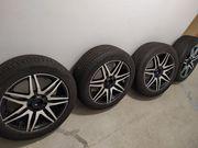 4 Felgen mit Reifen 17