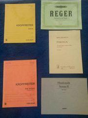 Diverse Orgelnoten 5 Hefte