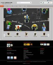 Online-Shop erstellen Internetshop Website zum