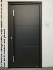 Aluminium-Haustür Ausstellungsstück Nr 15