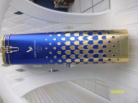 Alles Mögliche - Blechdose Blau mit Gold
