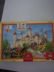 Vier Kinder Puzzle