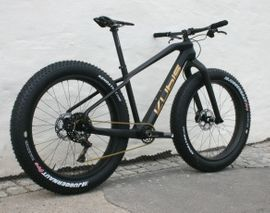 Kubis, bigbub Race SL, Carbon Fat Bike, nur 9,8kg XTR 1x11