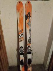 K2 Ski mit Telemark Bindung