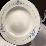 Suppenteller Keramik mit Blumen 5