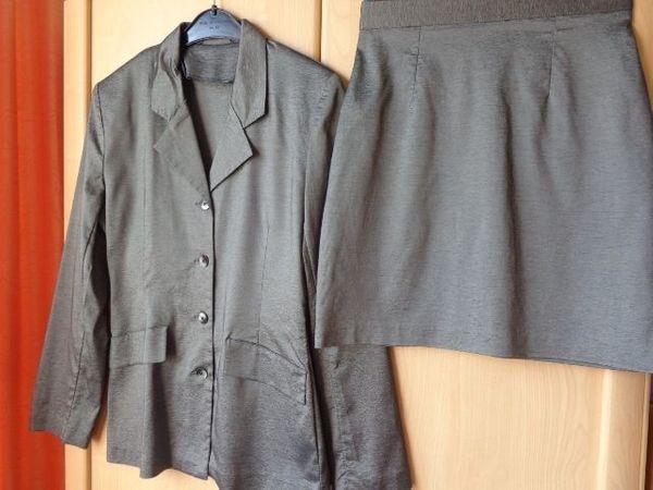 Mädchenbekleidung Damenbekleidung Blazer Jacke Rock
