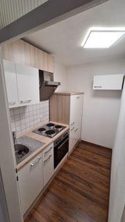 Möblierte Wohnung mit Küche und
