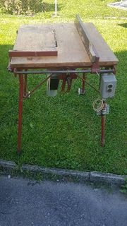 380Volt Tischkreissäge Holzsäge