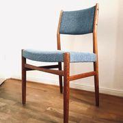 4 Chairs Danish Vintage Teak -