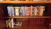 Spielfilmsammlung VHS mit Abspielgerät