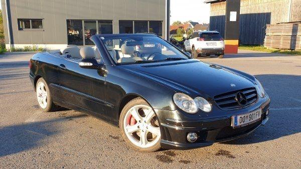 Mercedes Benz CLK 320 CDI
