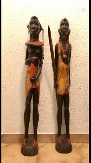 Figuren Afrika Paar Super Preis