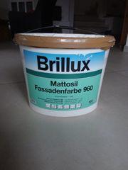 Brillux Mattosil Fassadenfarbe 960 weiß