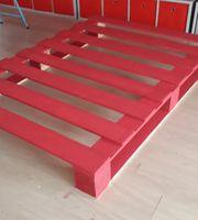 Bett - Palettenbett - Matratze - 140x200