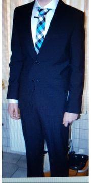 Anzug von s Oliver schwarz