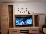 Wohnwand aus Dekorholz